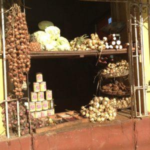 Onion shop in Trinidad