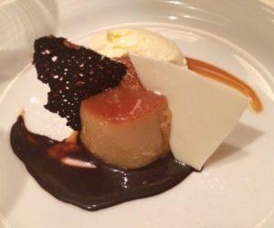 Dessert at the Oviedo restaurant