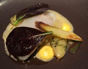 White fish dish at ZE Kitchen