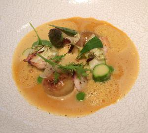 Soup at ZE Kitchen in Paris