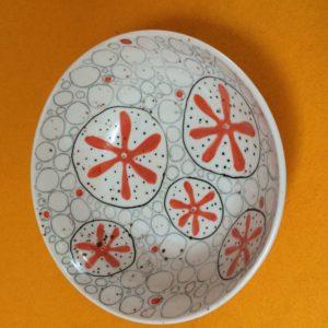 Sally McGill porcelain ceramic bowl